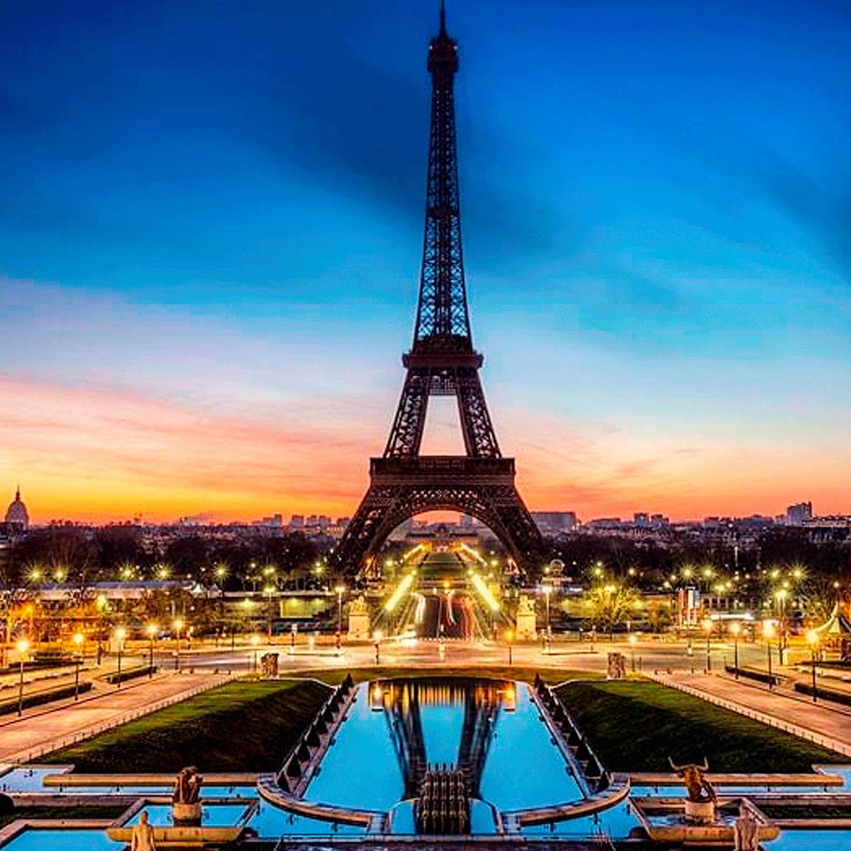 Europa Terrestres Madrid y Paris