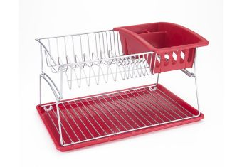 Escurridor p trastes rojo lichi metaltex sears com mx for Trastes de cocina