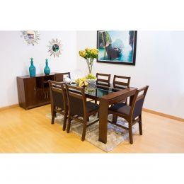 Comedor kansas mesa 6 sillas el ngel sears com mx me for Compra de comedores