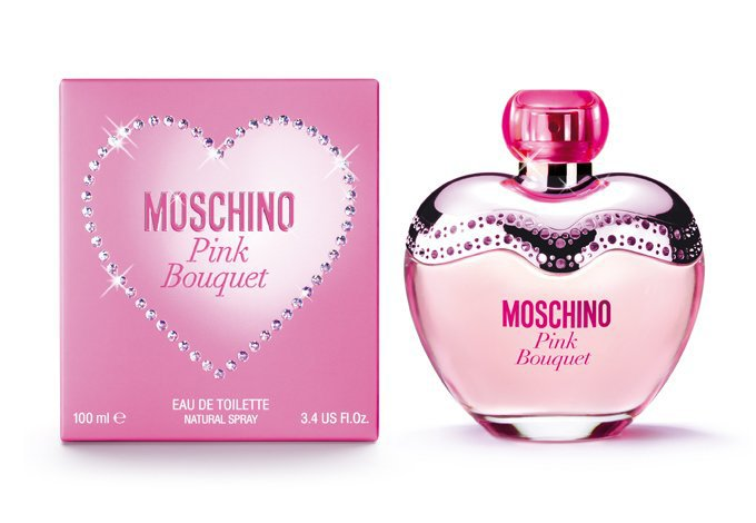 Moschino pink bouquet para mujer 100ml edt sears com for Bouquet par internet