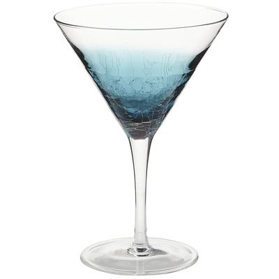 Copa para martini crackle teal blue pier 1 imports sears for Copas para martini