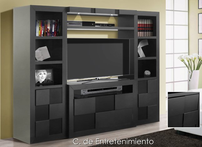 Centro de t v toulouse 4 pzas sears com mx me entiende for Closet con espacio para tv