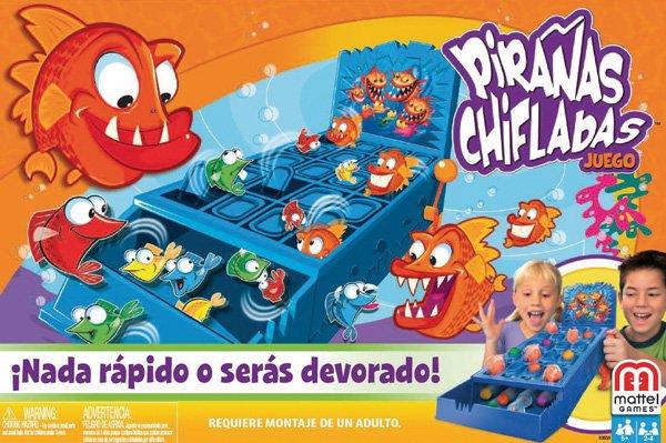 Piranas Chifladas Juego Mesa Mattel K3658 Sears Com Mx Me Entiende