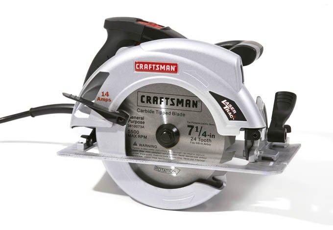 Sierra circular 71 4 14 amp modelo 10870 craftsman - Sierra circular precio ...