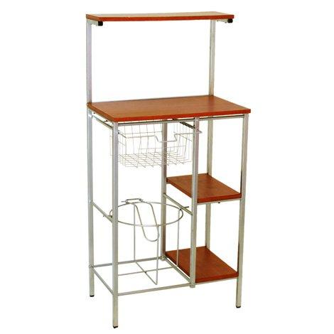 Mueble para microondas y portagarraf n m101 sears com mx for Mesa para microondas