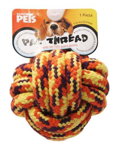 Juguete p perro bola de cuerda tejida 8cm acuario lomas for Bola juguete