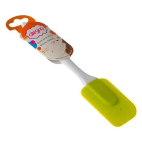 Esp tula de silic n con mango pl stico verde sears com - Espatula plastico cocina ...