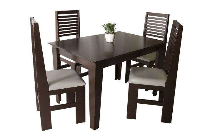 Desayunador con 4 sillas volga for Sillas para desayunador