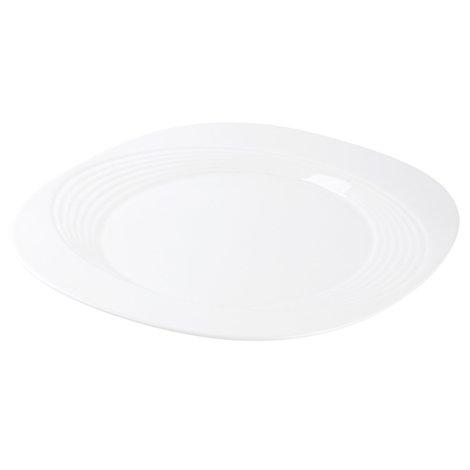 Plato cuadrado de porcelana 12 5 line cua31 sears com mx for Platos cuadrados de porcelana