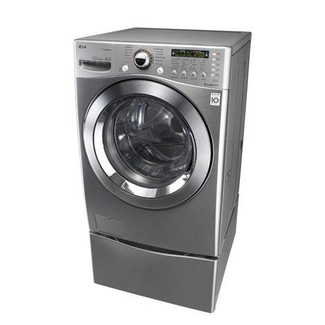 Lavasecadora lg 18 kg wd1873rds steel con pedestal sears com mx me entiende - Soporte secadora sobre lavadora ...
