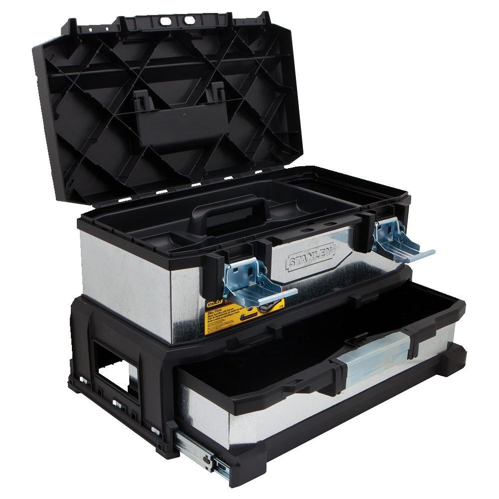 Caja de herramientas 20 fatmax metal pl stico con caj n - Caja con herramientas ...