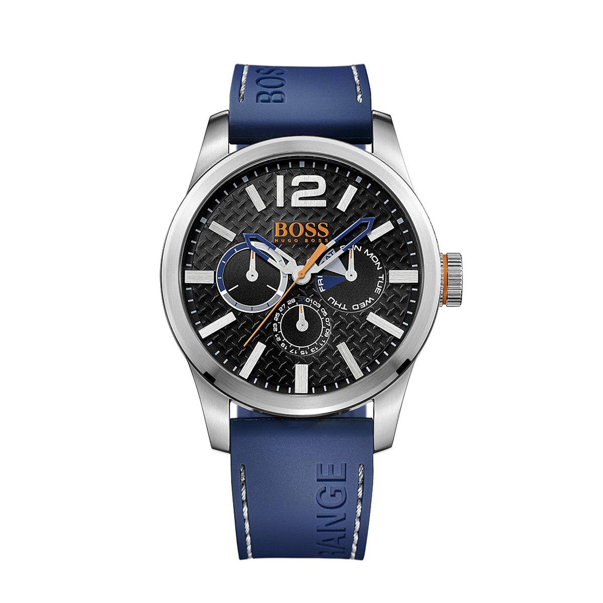Reloj Hugo Boss 1513250 Cuero Azul Hombre 379 900 En