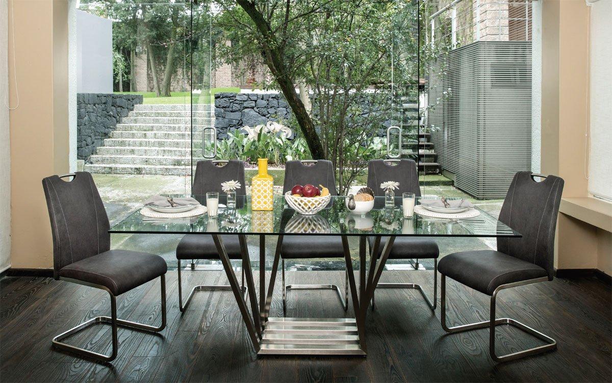 Mesa faroly para 8 sillas maderarte for Ofertas comedores paris