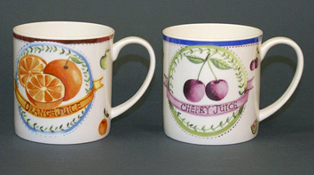 Taza de porcelana frutas sears com mx me entiende for Tazas de porcelana