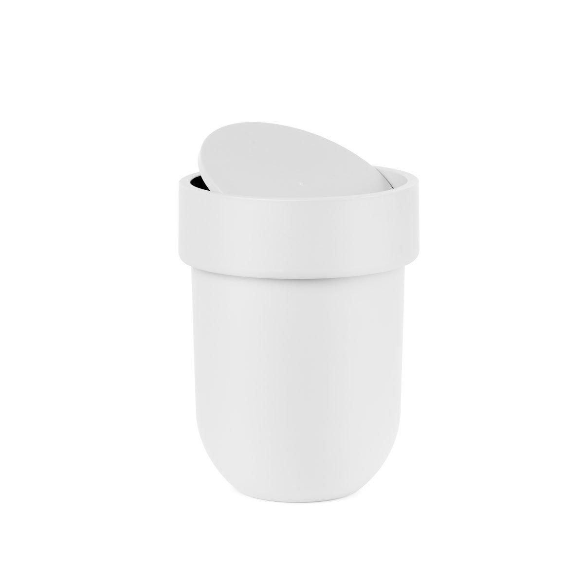 Accesorios De Baño Umbra:Bote basura touch blanco