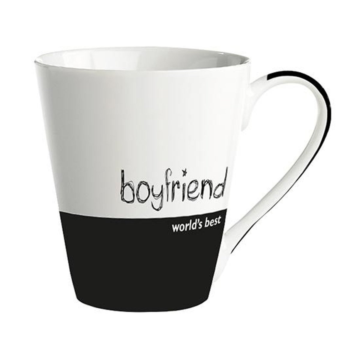 Taza de porcelana blanca y negra boyfriend sears com mx for Tazas de porcelana