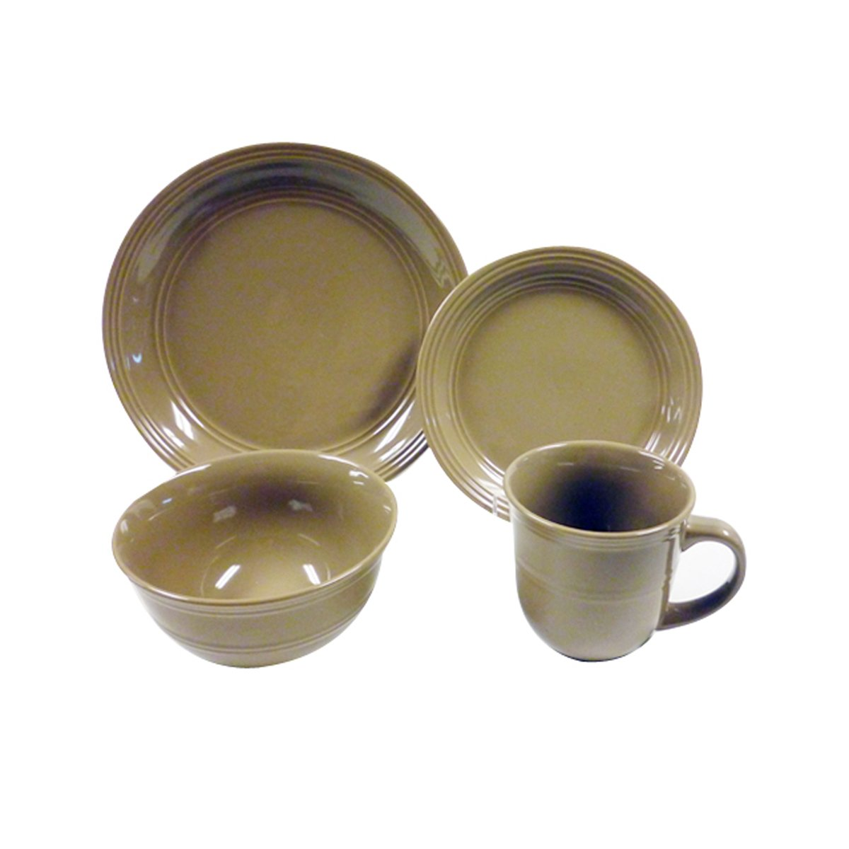Vajilla cer mica beige 16 pzs fc 29664 sears com mx me for Vajilla ceramica