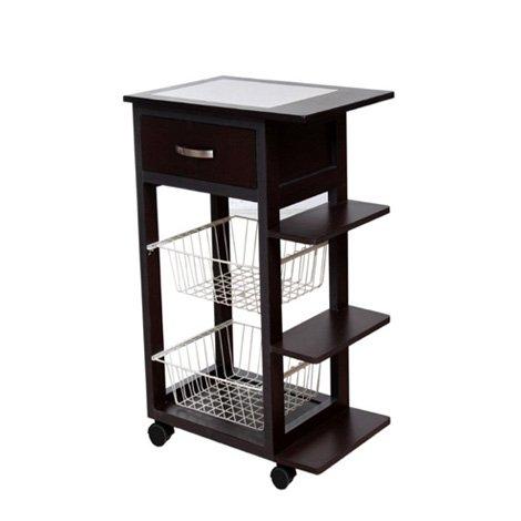 Mesa aux de cocina canc n con cubierta de azulejo sears for Mesa para microondas