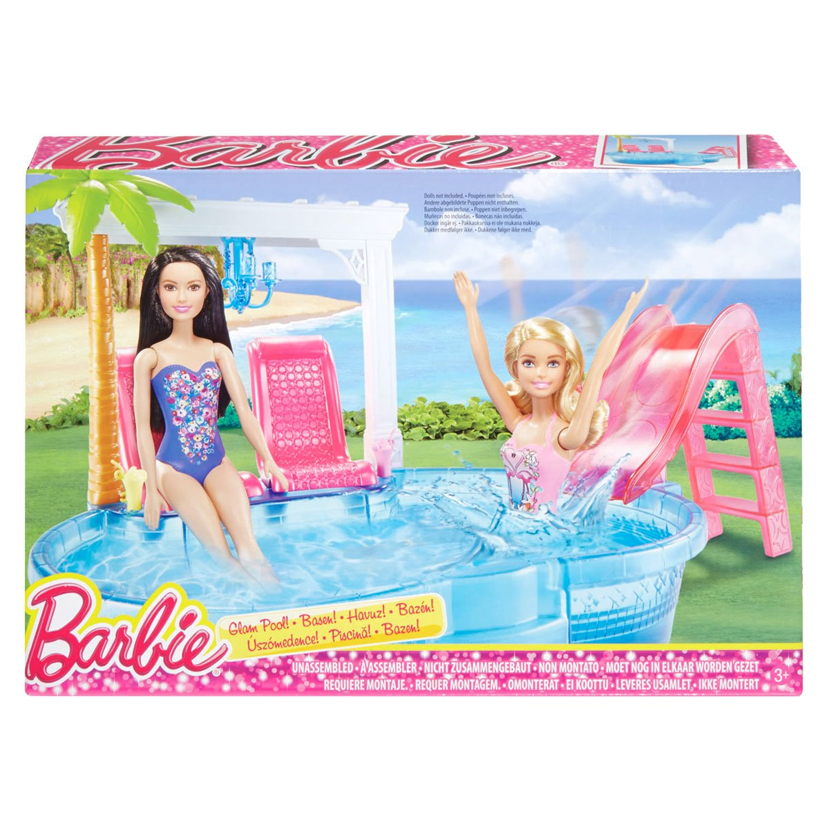 Barbie piscina glam sears com mx me entiende for Llenar piscina precio