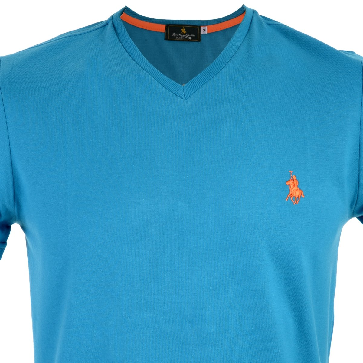 Playera Cuello V Polo Club