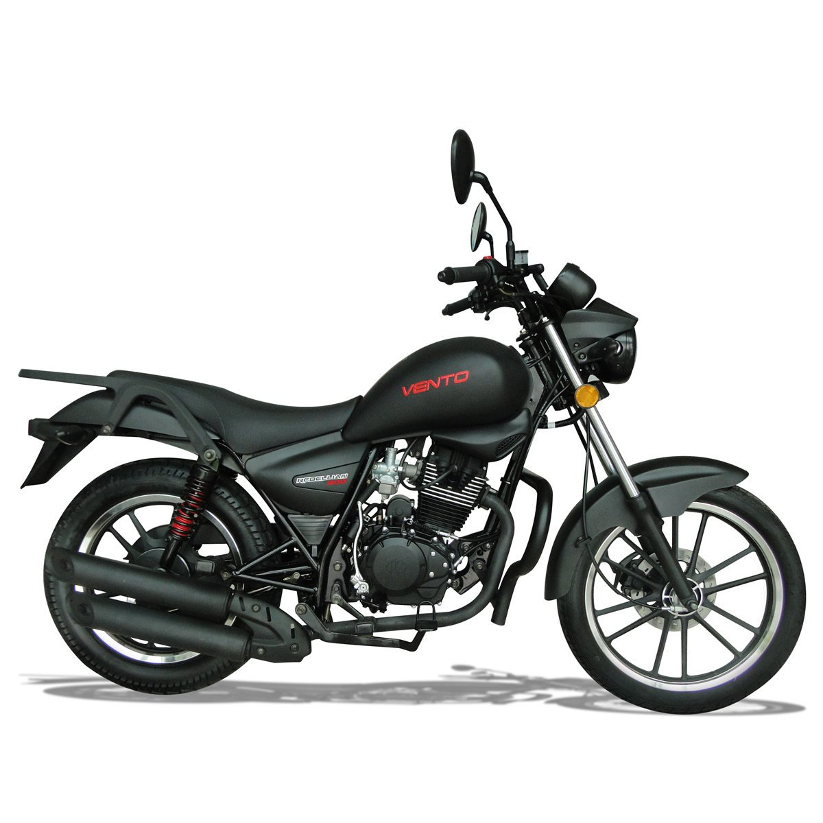 Motocicleta 200Cc Rebellian Ngr Mate 2017