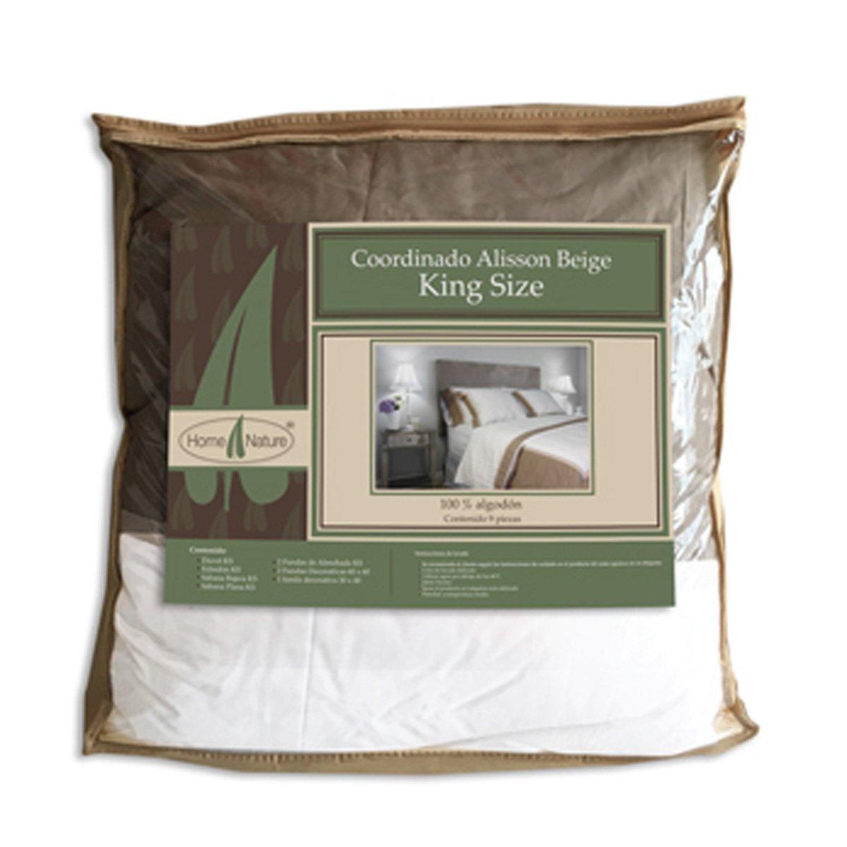 Paquete de cama classic beige king size sears com mx for Sabanas para cama king size precios