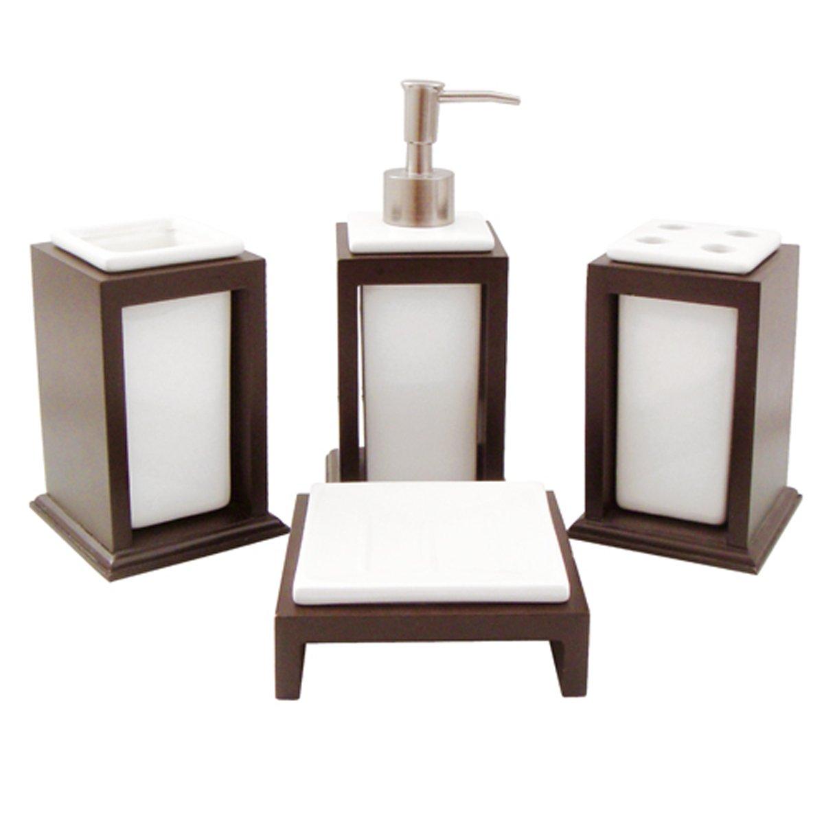 Juegos De Baño Sears: blancos baño juego de bano de cerámica juego de bano de cerámica