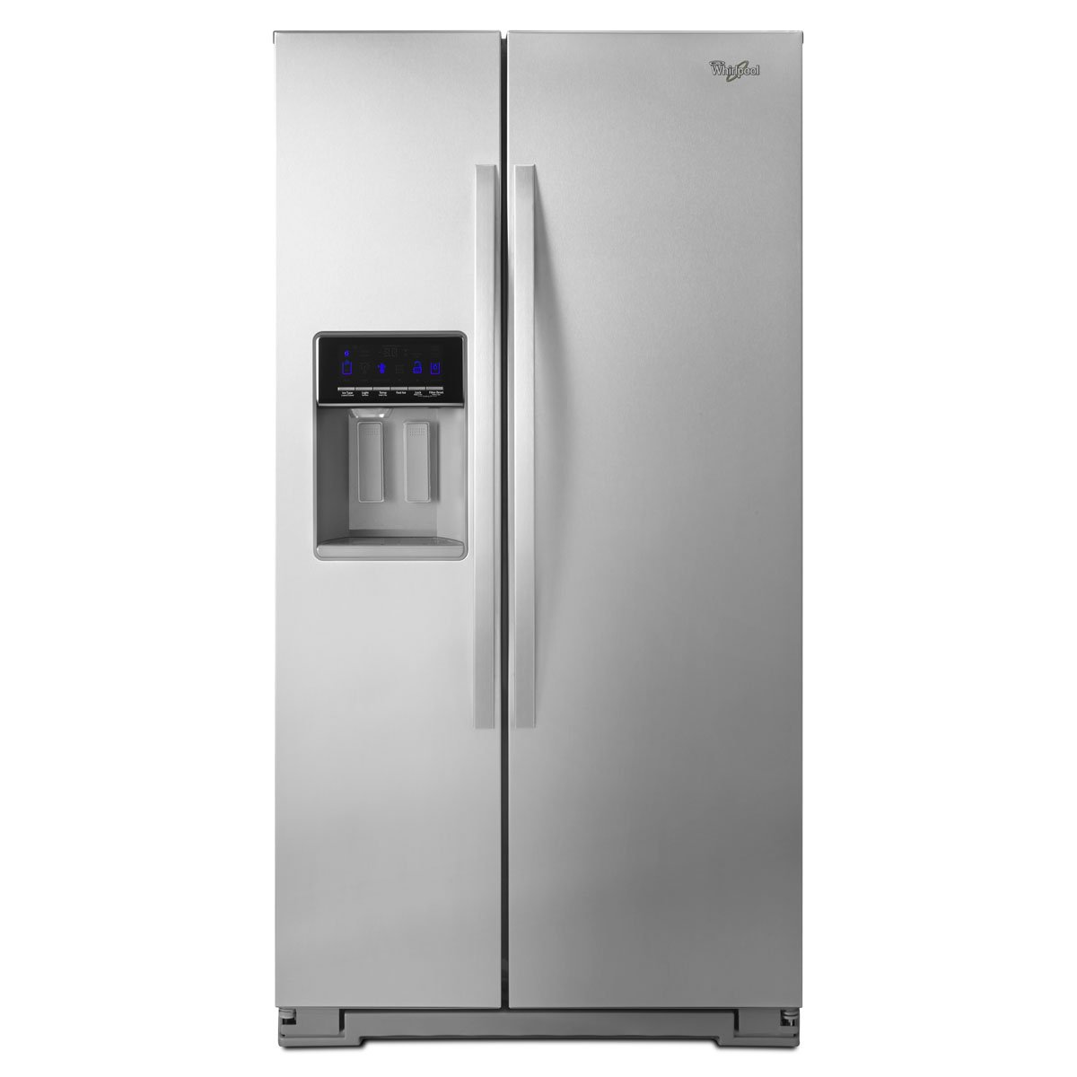 Refrigerador Whirlpool Side By Side 21 Pies Acero