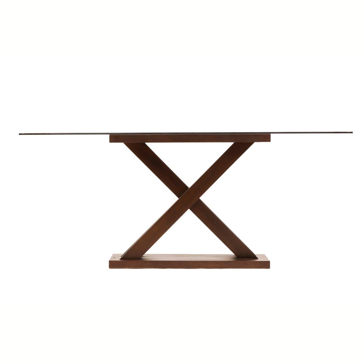 mesa rectangular con vidrio mercer sears com mx me