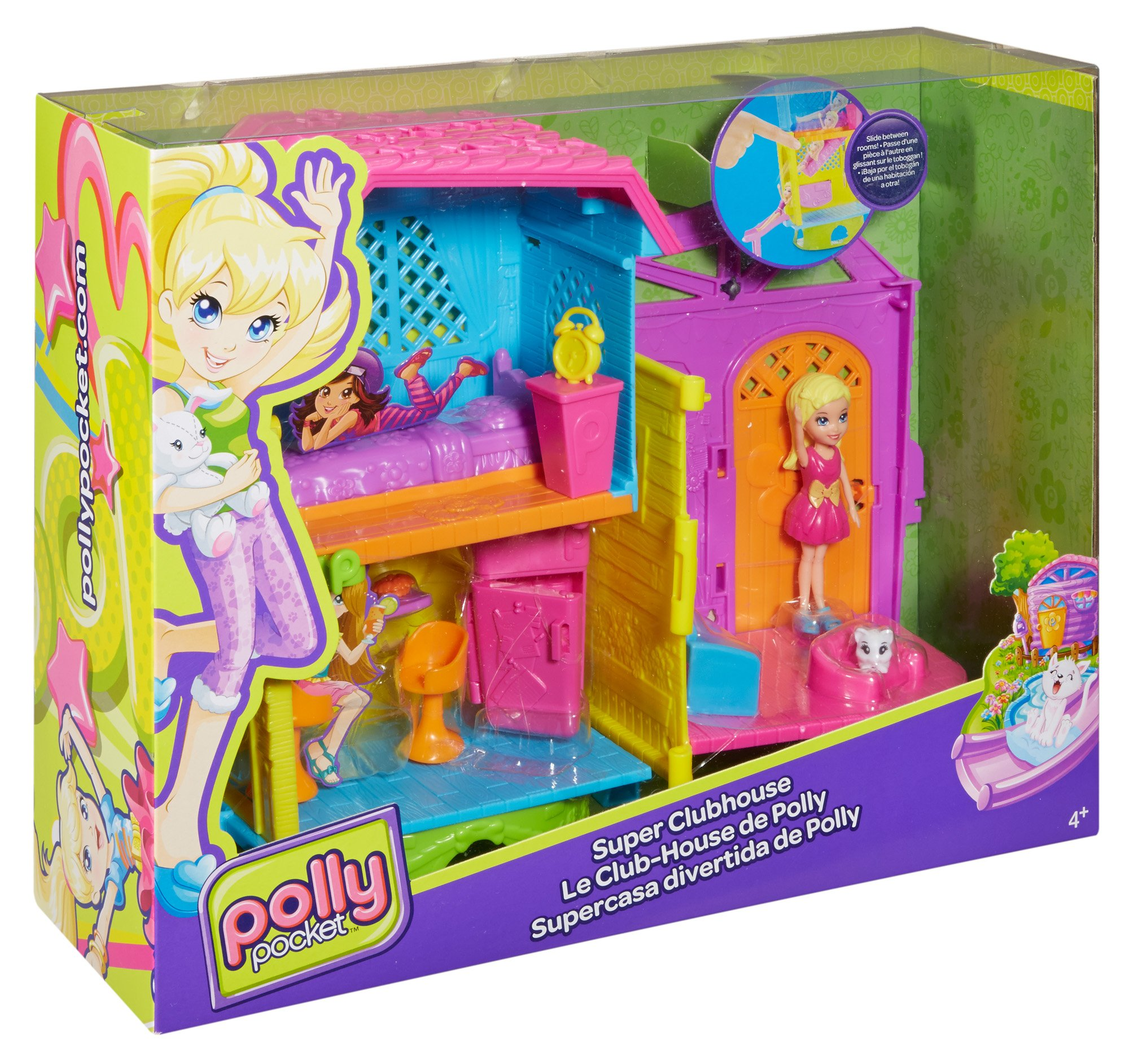 Juegos De Baño Sears:Polly Pocket! Casa Club De Polly