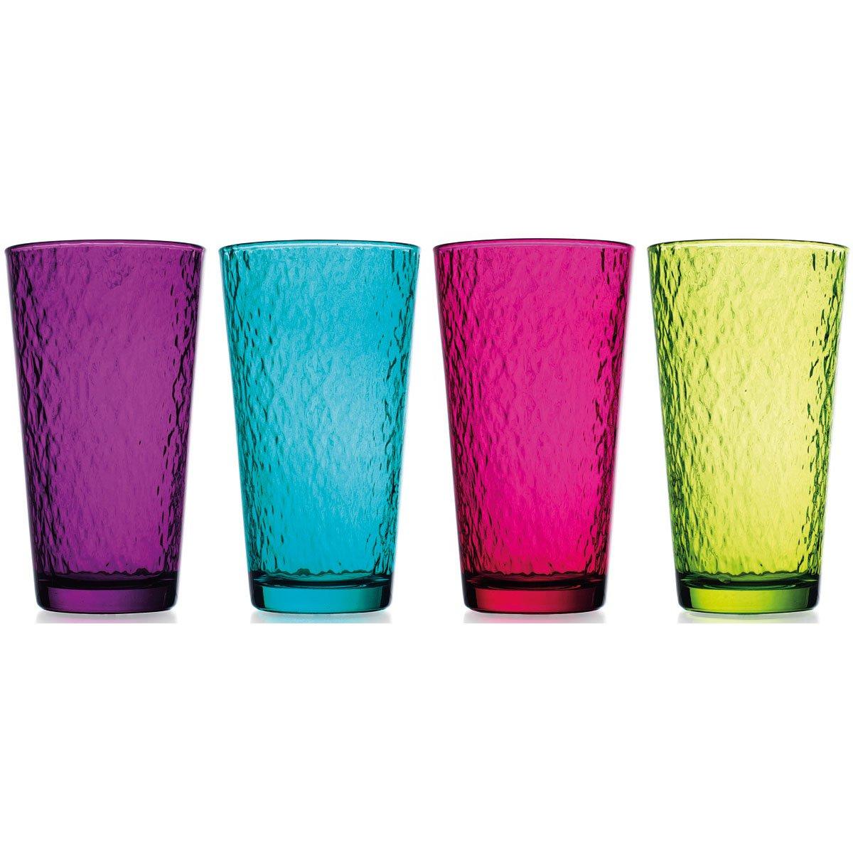 Vasos de colores hammered 4 colores a elegir sears com - Vasos de colores ...