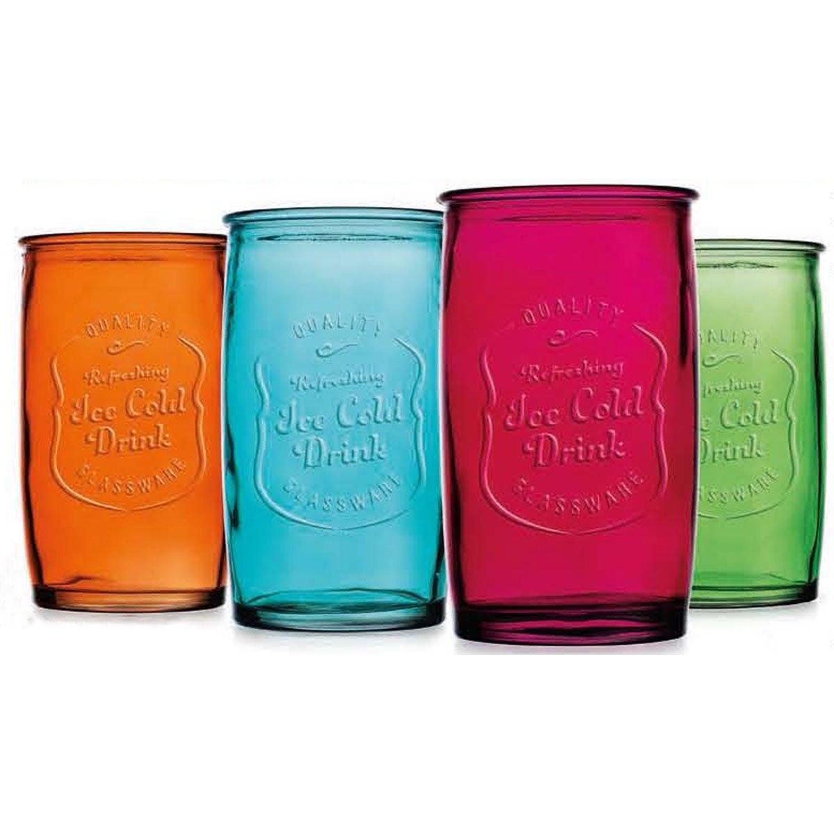 Set de 4 vasos de colores ice 20 ozass sears com mx me - Vasos de colores ...