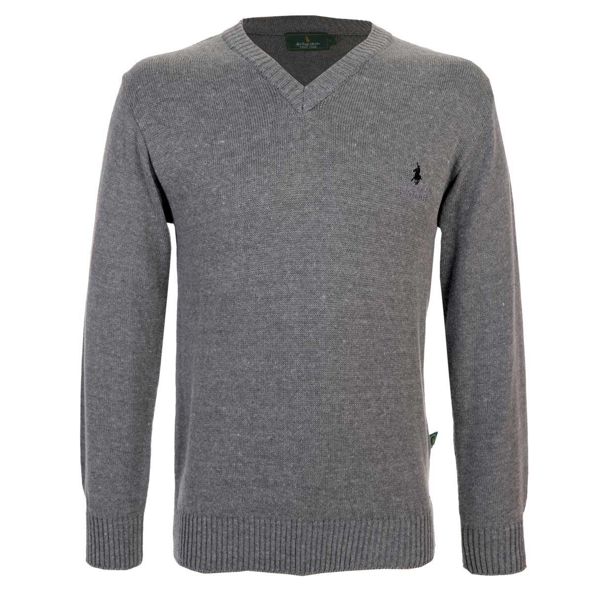 8eddbf97fa Suéter básico cuello V Polo Club