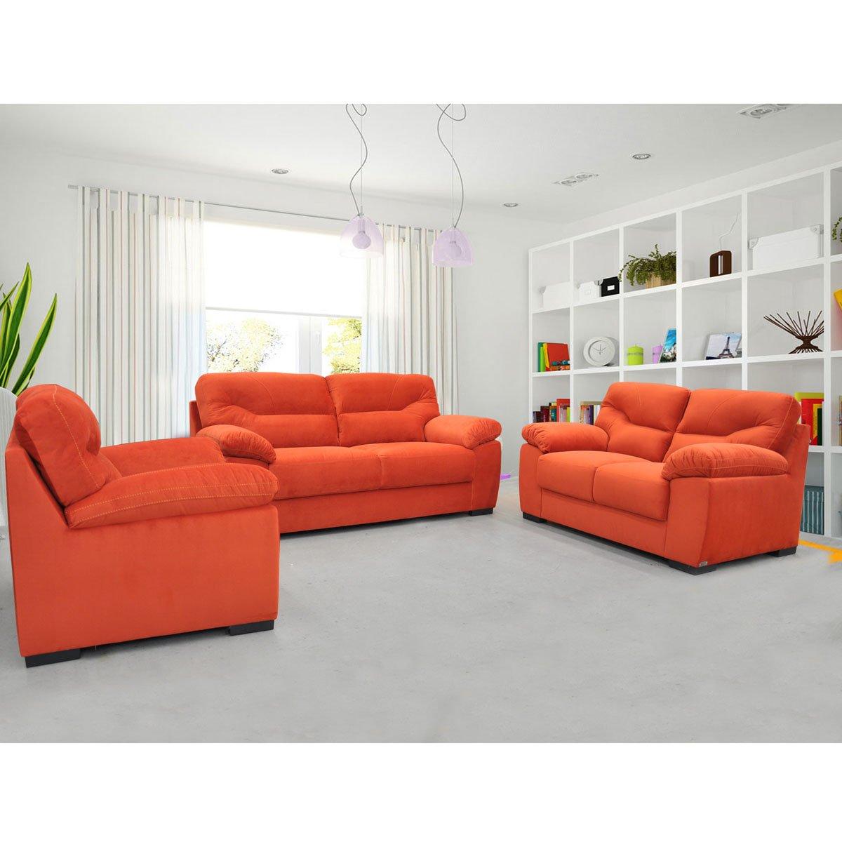 Sof cartagena tapizado tela persimon - Tela tapizado sofa ...