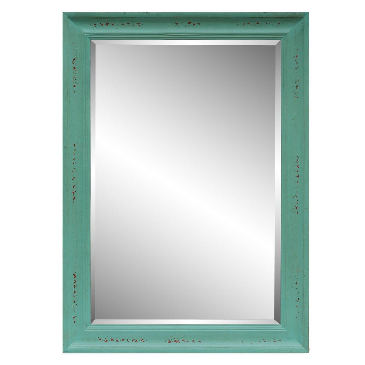 Espejo home nature marco de madera gris sears com mx for Espejo marco gris