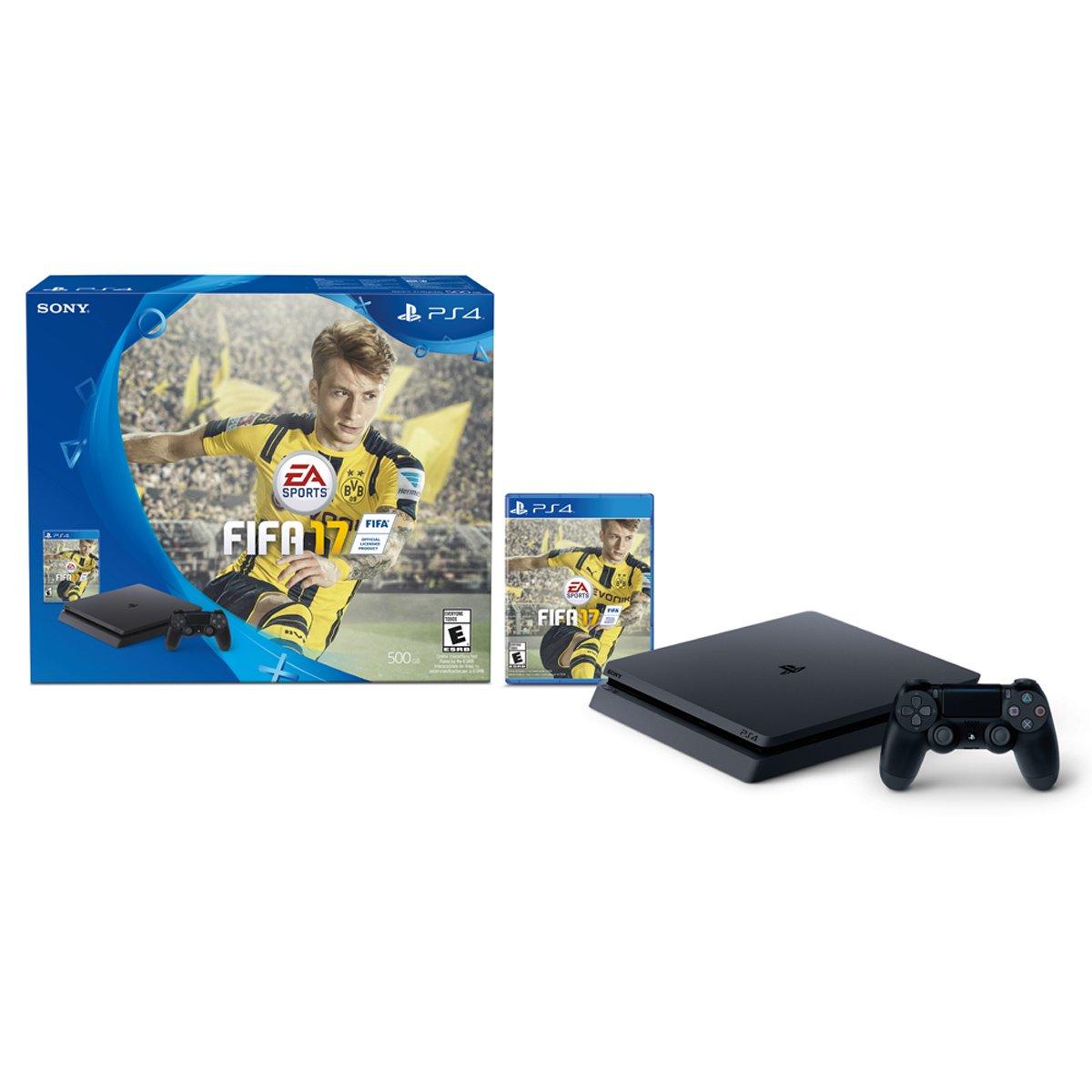 Consola Ps4 500Gb + Ps4 Fifa 17