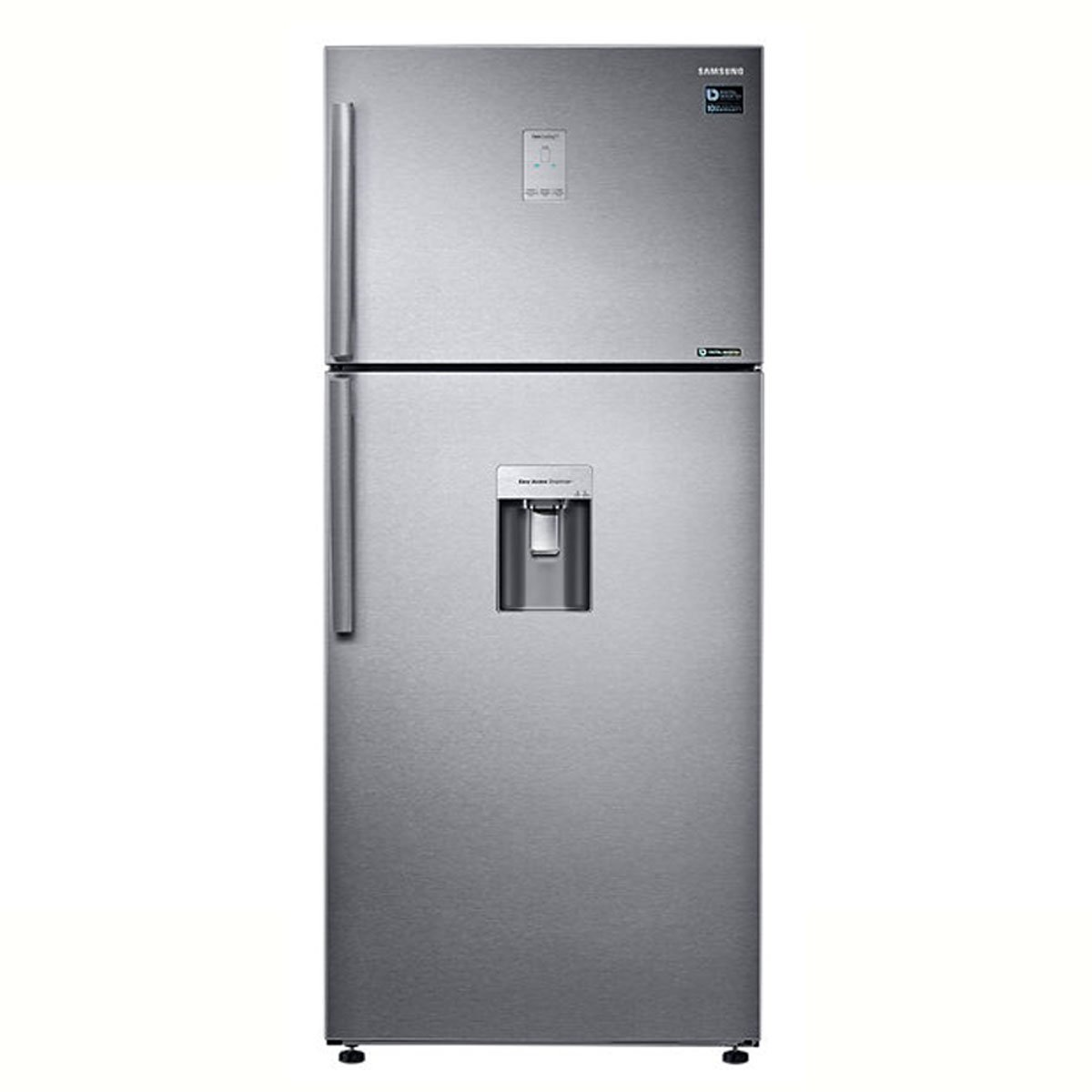 refrigerador samsung top mount 19 pies easy clean steel. Black Bedroom Furniture Sets. Home Design Ideas