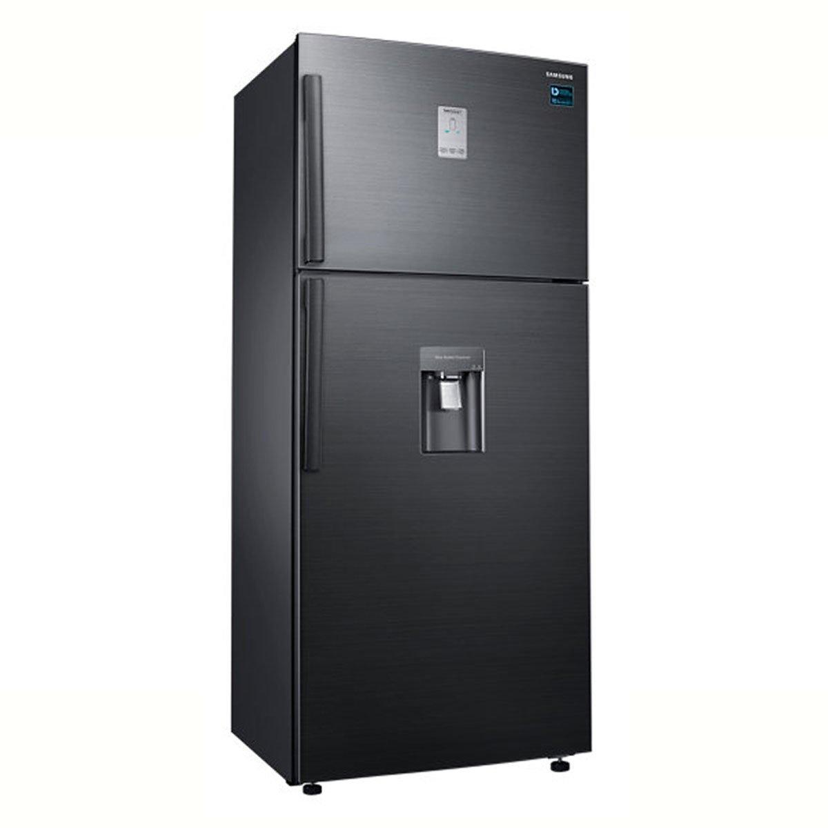 Refrigerador Samsung Top Mount 19 Pies Black Inox