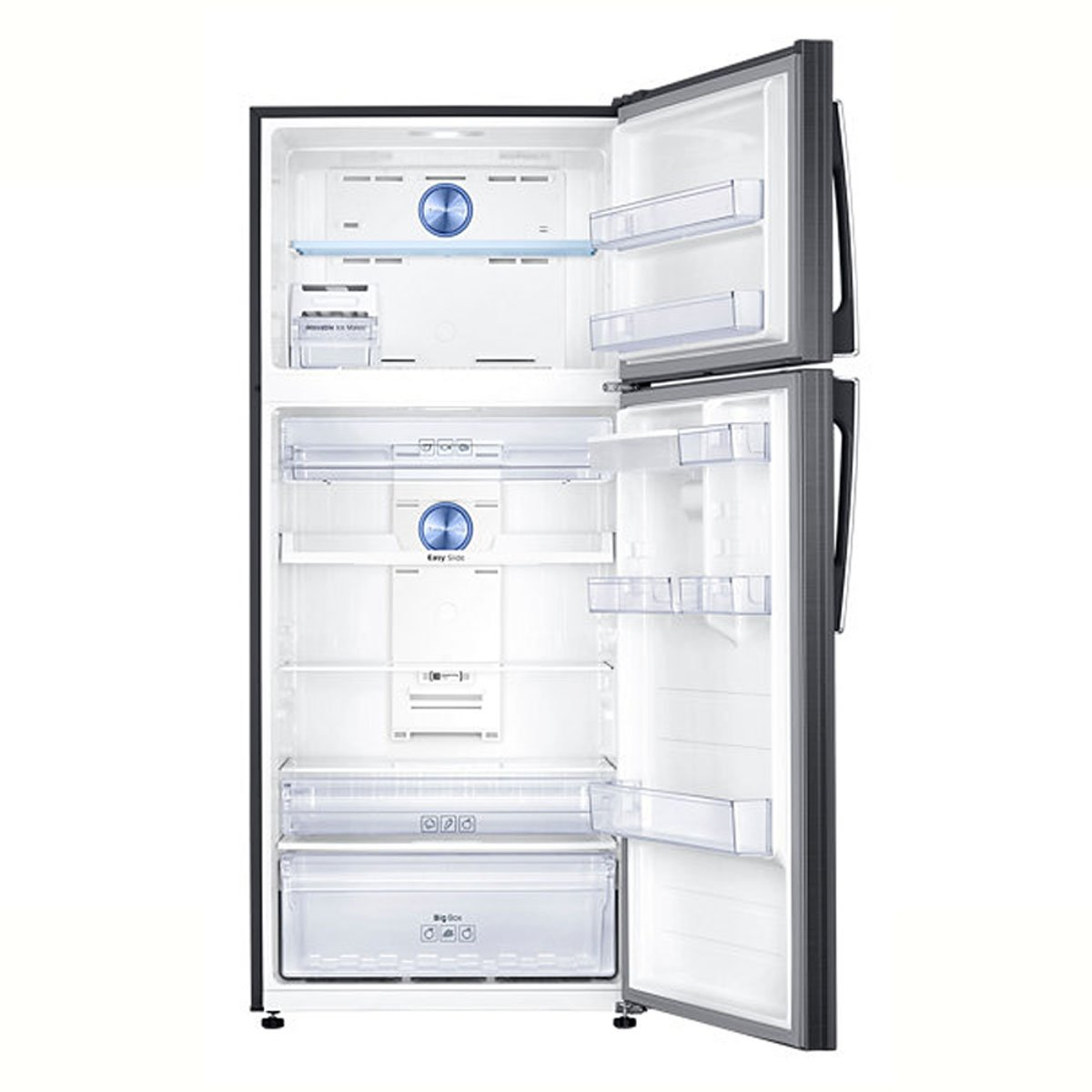 Refrigerador Samsung Top Mount 19 Pies Black Inox