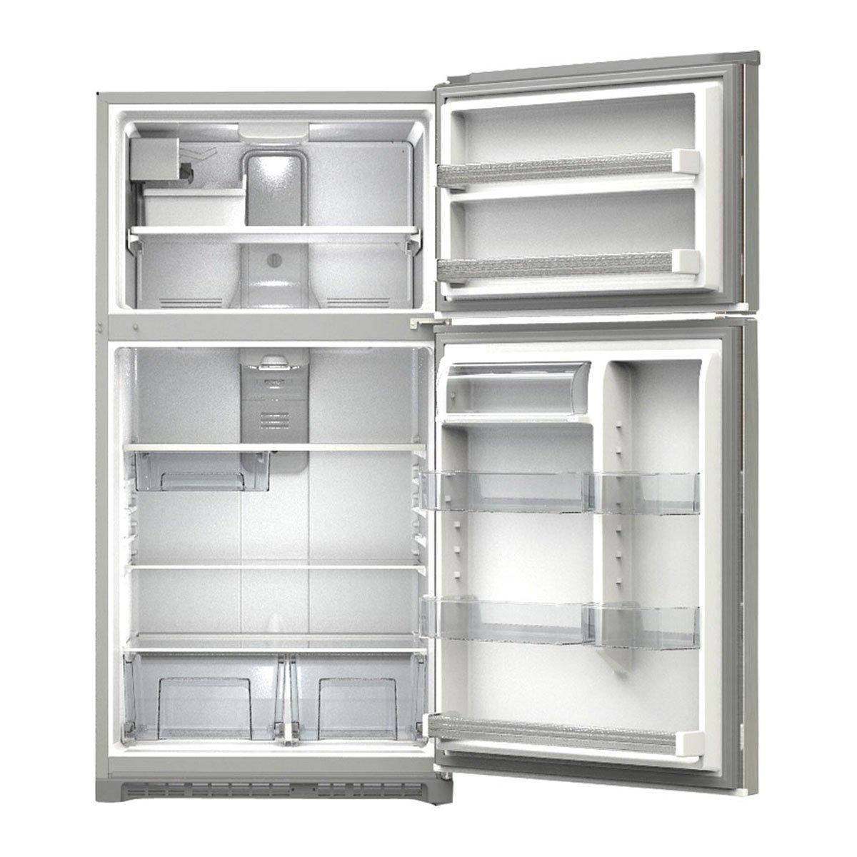 Refrigerador whirlpool top mount 21 pies acero inoxidable for Refrigerador whirlpool