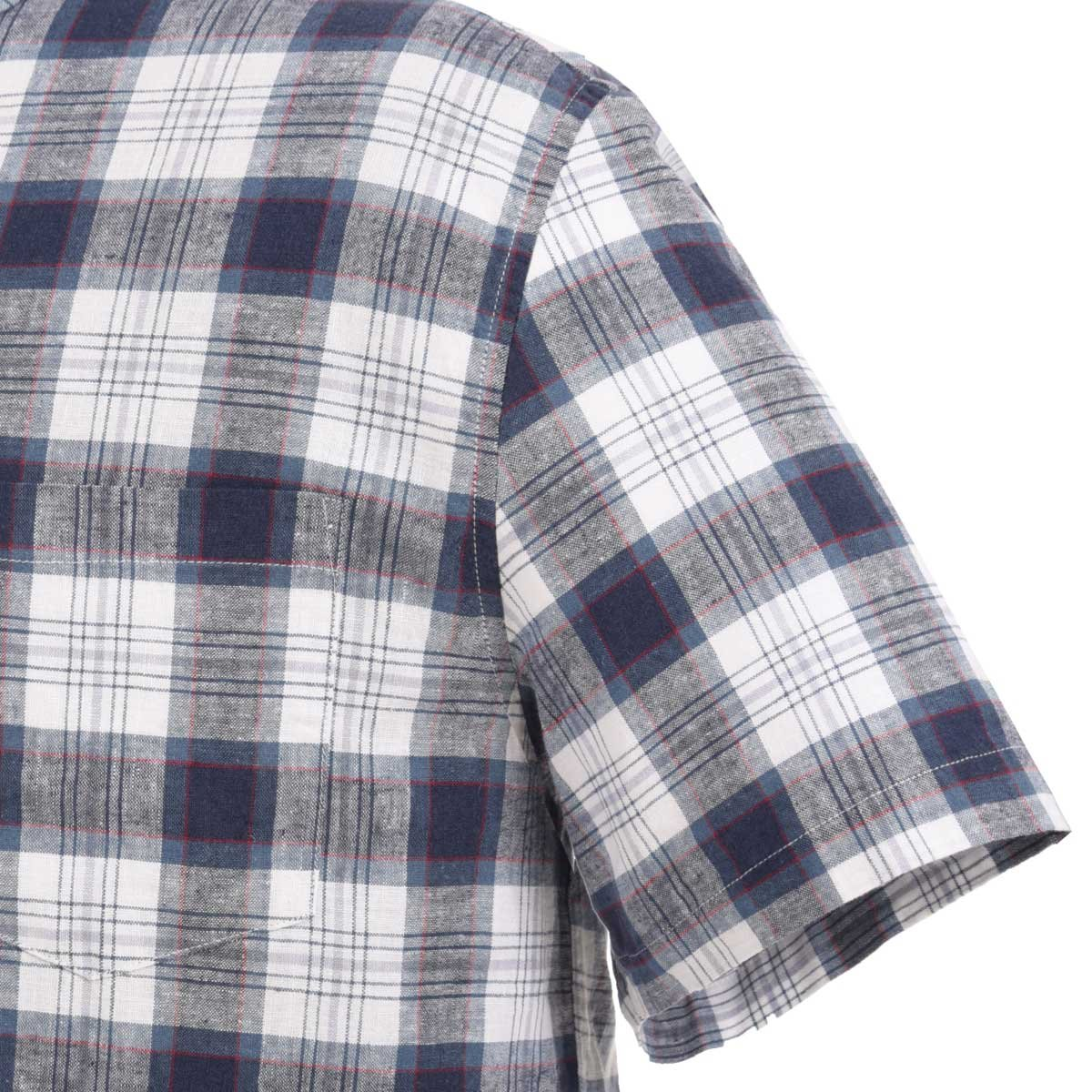 Camisa Cuadros Grandes Manga Corta J. Opus Plus