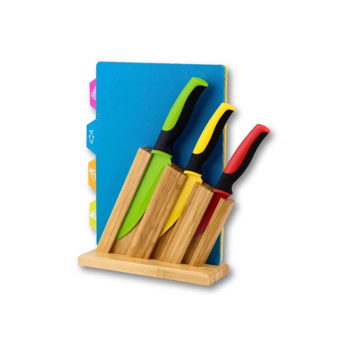 Block de cuchillos y tablas swissland - Tabla de cuchillos ...