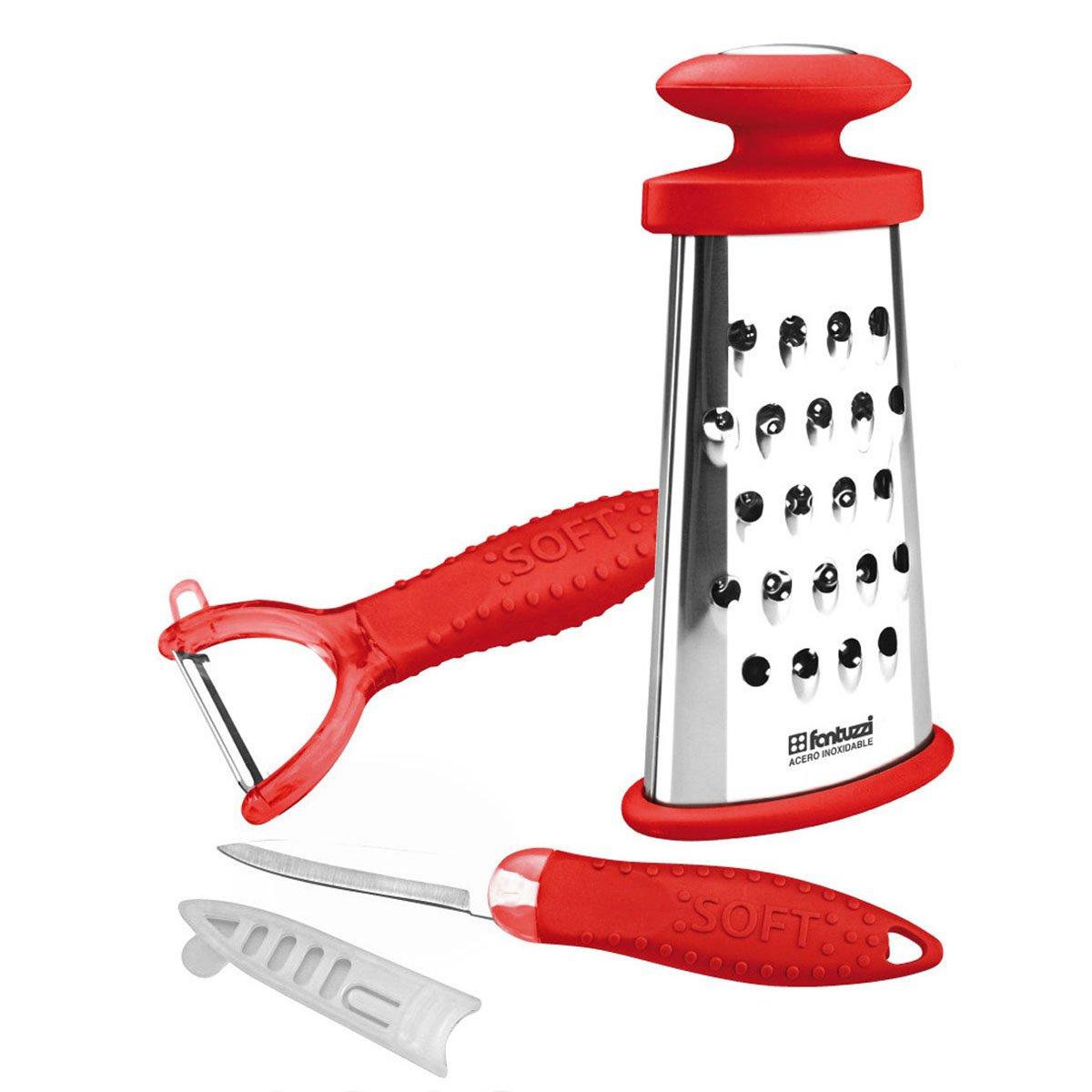 Juego de utensilios fantuzzi rojo sears com mx me for Juego de utensilios de cocina