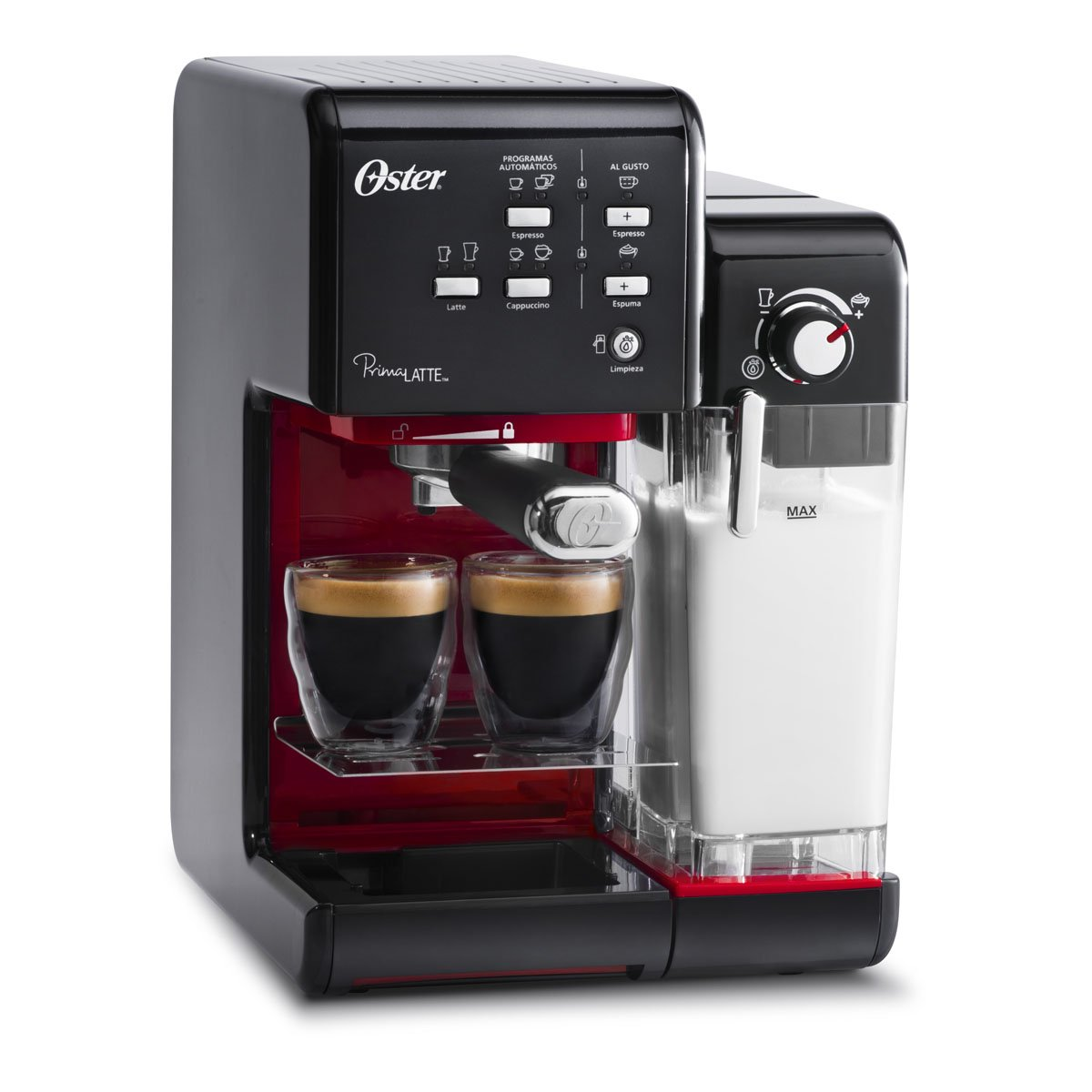 Cafetera espresso capuchino prima latte negra bvst oster - Cafetera express amazon ...