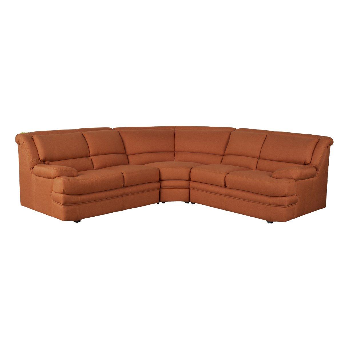 Sala Modular Lando Color Naranja Sears Com Mx Me Entiende  # Muebles Liz Garantia