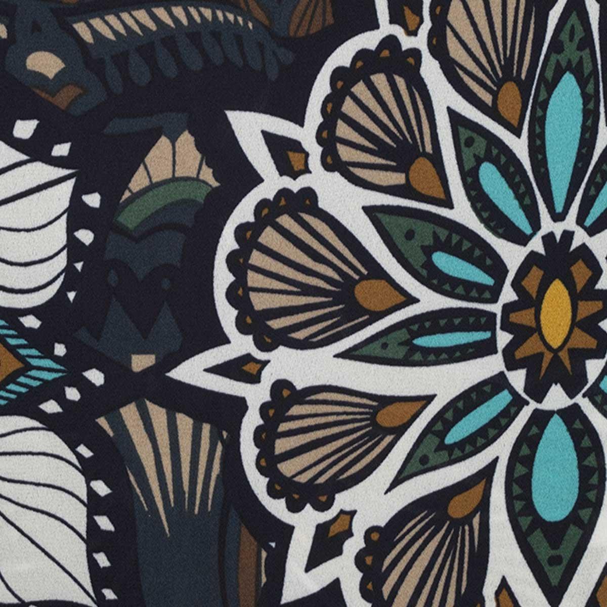 Blusa Plus Estampado Floral Life Styler