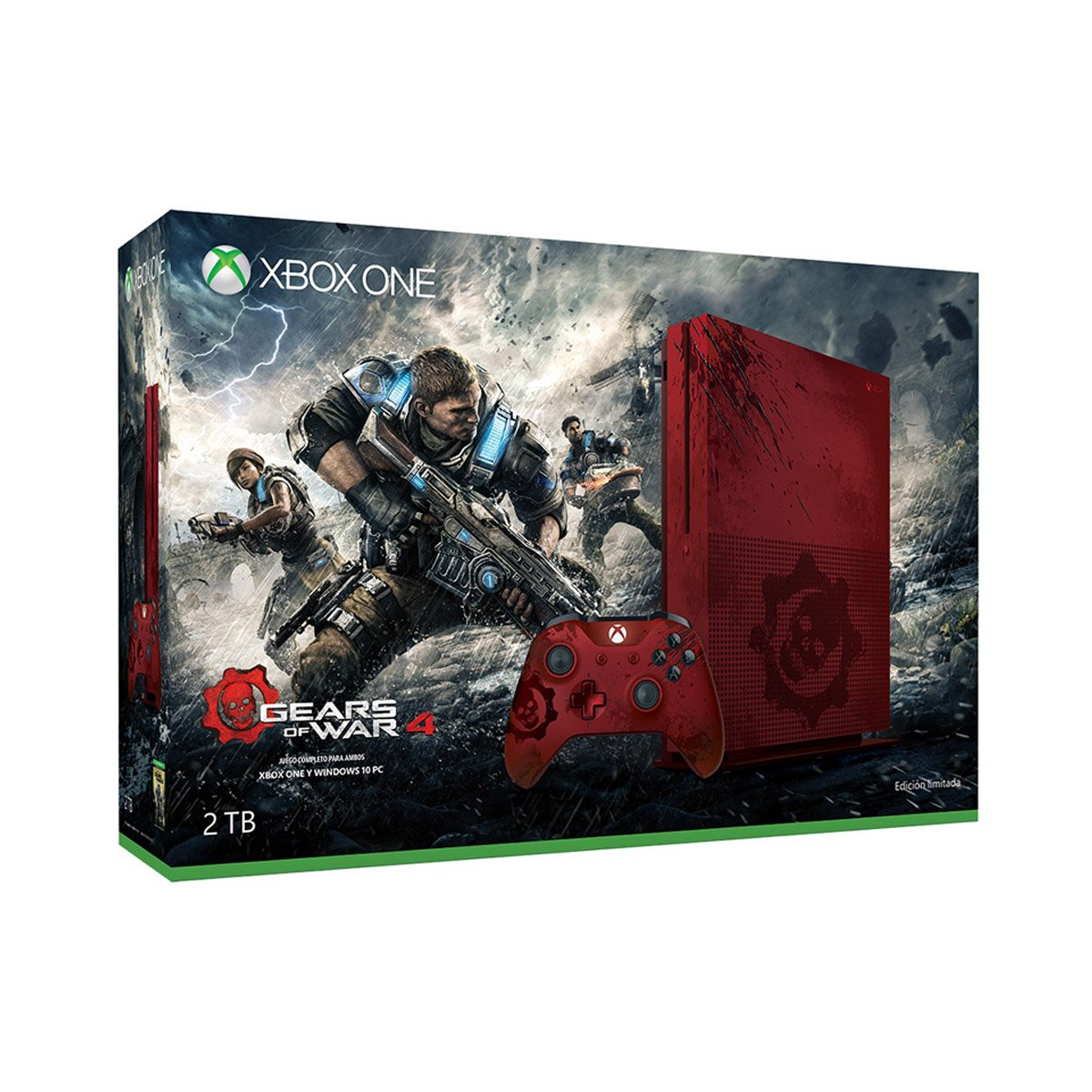Consola Xbox One 2Tb  Gears Of War4