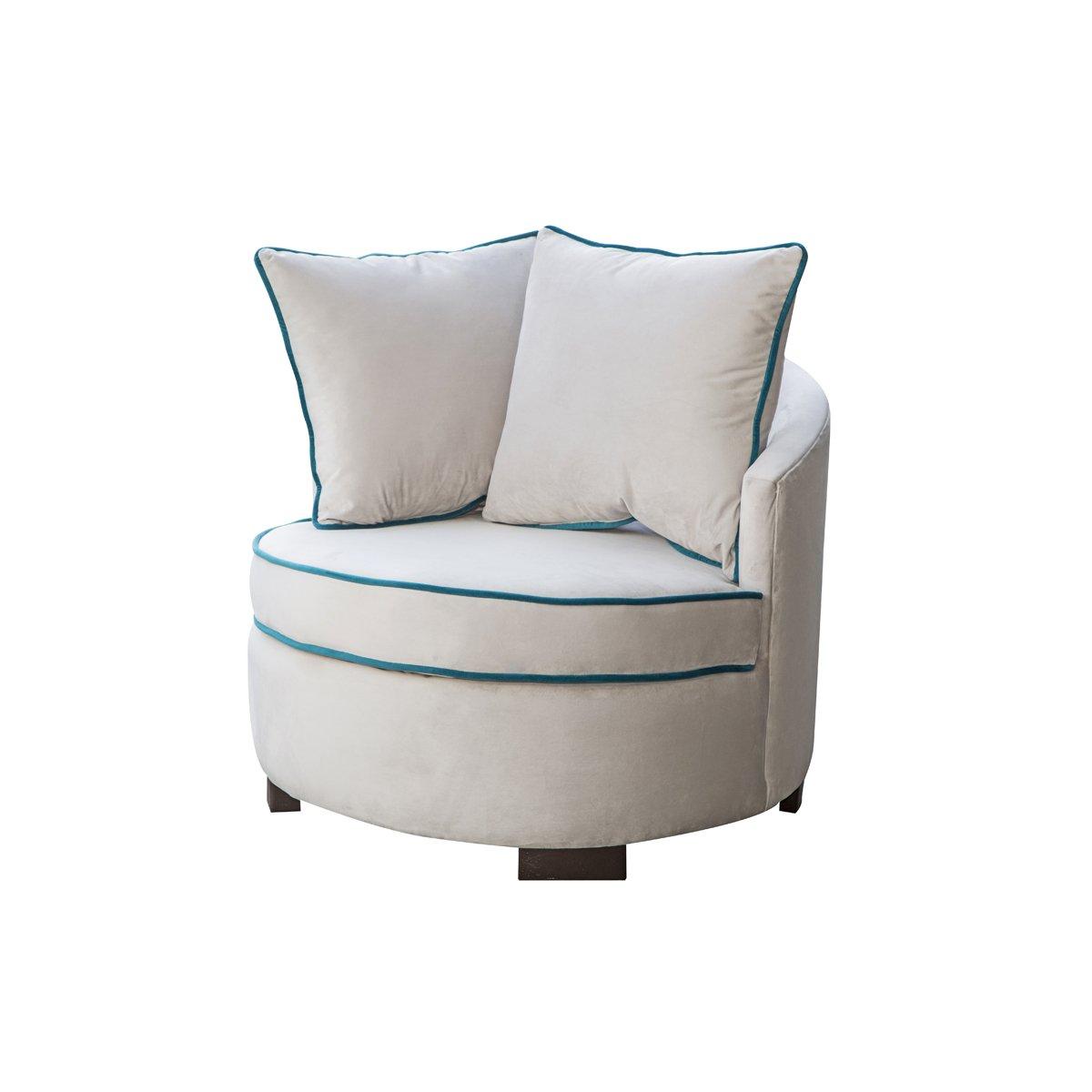 Sillones redondos silln redondo sofa with sillones for Sofa exterior redondo