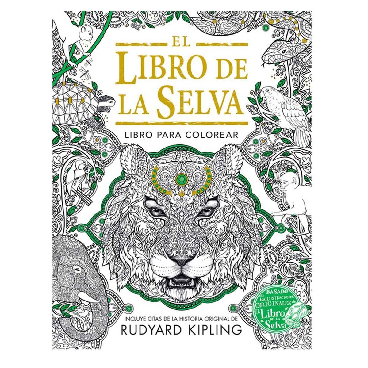 LIBRO PARA COLOREAR EL LIBRO DE LA SELVA   SEARS.COM.MX - Me entiende!
