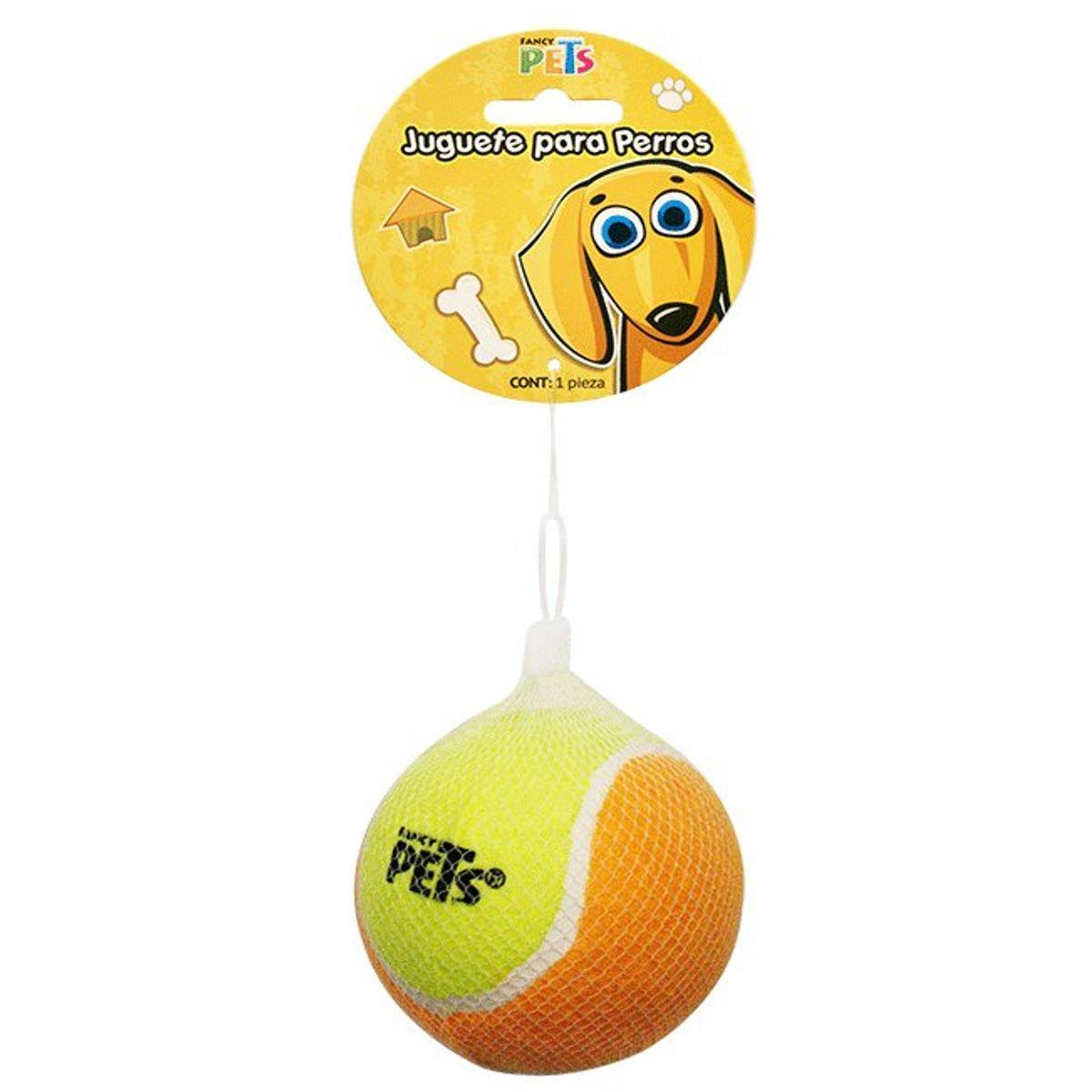 Juguete p perro bola de tenis 10 cm 1 pieza acuario for Bola juguete
